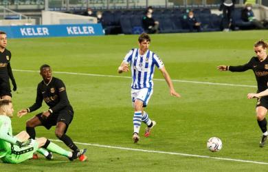Messi ghi cú đúp, Barca trút mưa bàn lên Sociedad